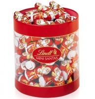 Lindt Mini Chocolate Santas Box Of 63 (700g)