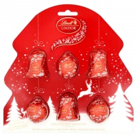 Lindt Lindor Tree Decorations Bells & Baubles 120g