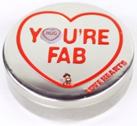 Swizzels Mini Love Hearts Gift Tin