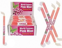 Pink Mint Rock - World Famous Sticks Of Rock