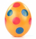 Real Easter Egg Filled With Solid Milk Chocolate Polka Dot 50g