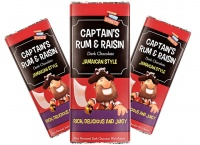 Jamaican Style Rum & Raisin Dark Chocolate Bar 200g