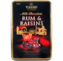 Walkers Milk Chocolate Rum and Raisins Gift Tin 250g
