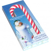 Snowman And The Snowdog Soft & Chewy Candy Canes Pack Of Two
