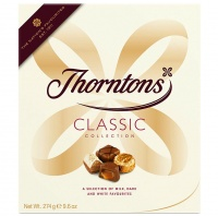 Thorntons Classic Collection Assorted Chocolate Milk, Dark And White