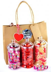 Valentines 'Sweet Heart Jar' Gift Set