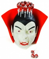 Lolly Filled Dracula Head