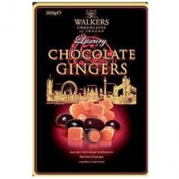 Chocolate Ginger Gift Tin Walkers 300g
