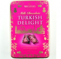 Walkers Turkish Delight Gift Tin 300g