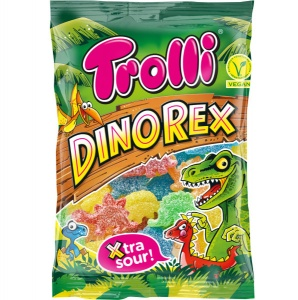 Sour Dino Rex Jelly Sweets