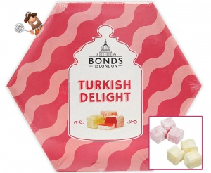 Turkish Delight Gift Box Rose And Lemon 215g