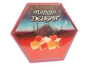 Turkish Delight Gift Box Rose And Lemon
