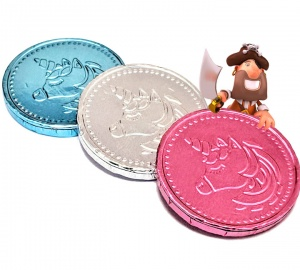 Unicorn Milk Chocolate Coins