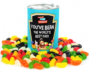World's Best Dad Bean Can - For Father's Day, Christmas or Dad's Birthday