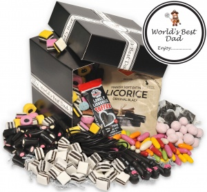 World's Best Dad Liquorice Hamper